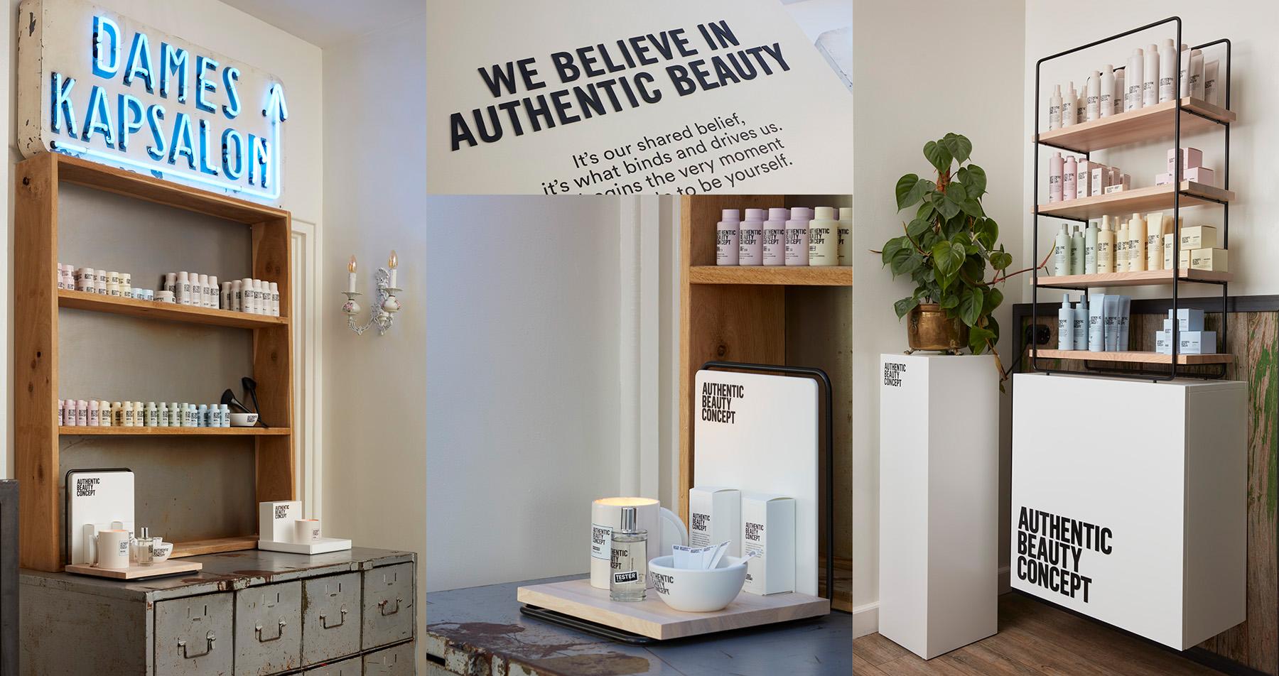 Authentic Beauty producten nieuw bij Gabry Hairdesign